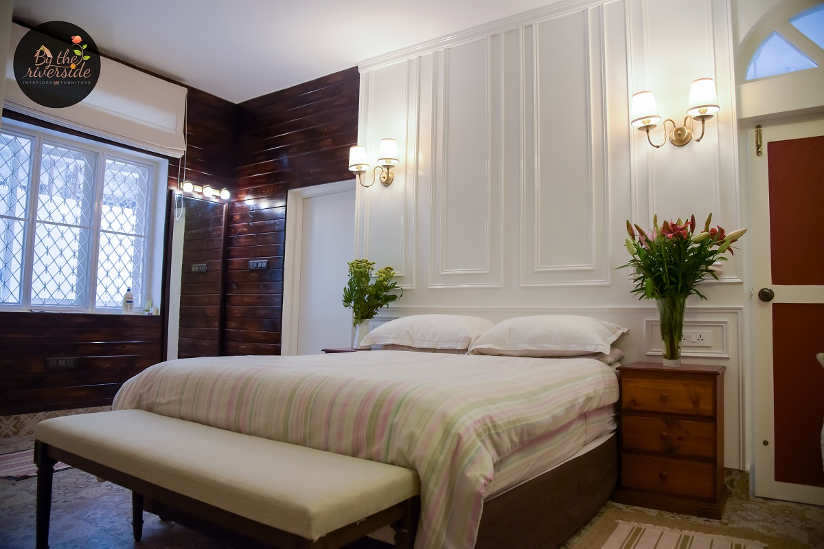 french style bedroom interiors