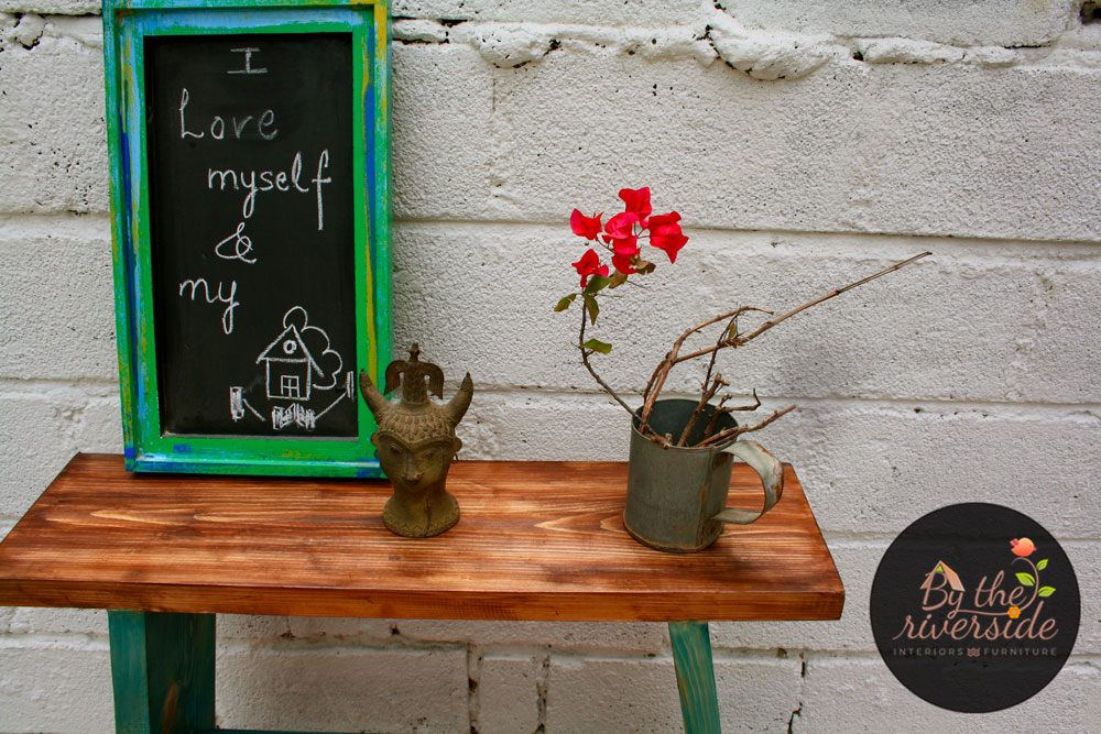 rustic chalk boards