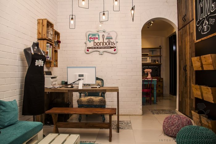 creative baking studio interiors